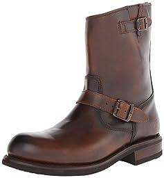 FRYE Men\'s Sutton Engineer Boot,Whiskey,11.5 M US