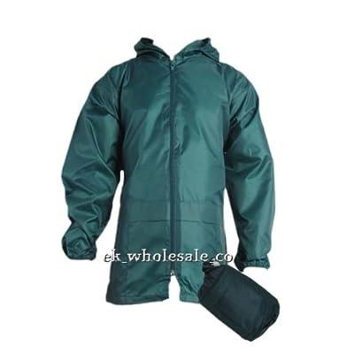 Boys Girls Kagoul Rain Coat Jacket Age: 4-16