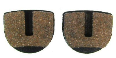 Image of Jaguar Power Sports Disc Brake Pads - Length: 25mm Height: 22mm Thickness: 4.6mm (B007PC7QY4)
