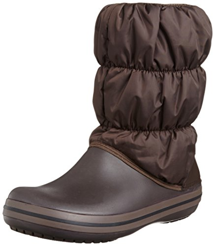 Crocs Winter Puff Boot W, Stivali, Donna, Marrone (Espresso/Espresso 22Z), 37.5