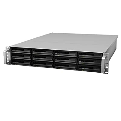 Synology RackStation 12-Bay Plug-n-Use 2U Rackmount Expansion Unit (RX1213sas) from Synology America