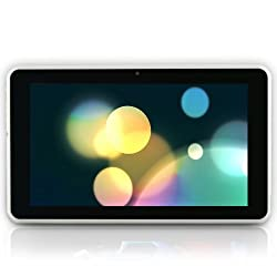 TABTRONICS QUANTUM7 ULTRA HD IPS Tablet PC - 7 Inch Android 4.1.1 (Jelly Bean), IPS SCREEN; WIFI; ROCKCHIP RK3066 DUAL CORE - 2 X CORTEX A9; QUAD GPU - IPS 1024 x 600 Capacitive 5 Point Touch Screen, 16GB Storage, 1GB DDR3 Memory, Ultra Thin 8.6mm design - HDMI & 3D Output