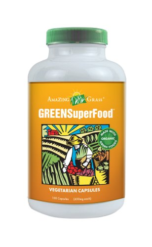 Amazing Grass Green Super Food  150 Vegetarian Tabs