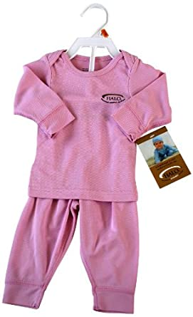 HALO Baby-girls Newborn Technical Comfort System 2 Piece Set, Pink, 6-9 Months