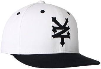 Zoo York Men's Color Block 3D Logo Hat, White, One Size