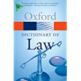 A Dictionary of Law (Oxford Paperback Reference)by Elizabeth A. Martin