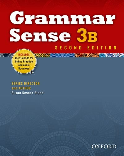 Grammar Sense 3B Student Book with Online Practice Access Code Card