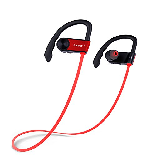 bluetooth headphones ixcc bluetooth 4 0 wireless stereo headset in ear noise cancelling. Black Bedroom Furniture Sets. Home Design Ideas