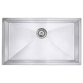Blanco 512-747 Super Single Bowl Kitchen Sink, Satin