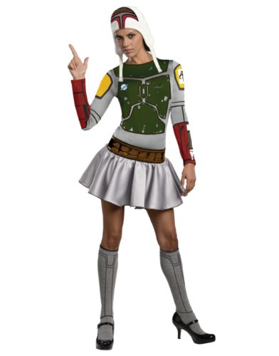 Star Wars Sexy Boba Fett Dress Costume Adult