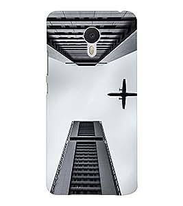 EPICCASE Flying between Scrapers Mobile Back Case Cover For Meizu M3 Note (Designer Case)