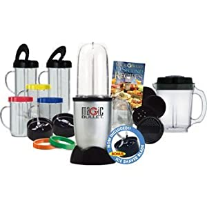 Magic Bullet Deluxe 27 Piece Mixer & Blender (Includes Ice Shaver Blade), Includes the... by Magic Bullet