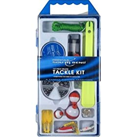 South Bend 137 Piece Deluxe Tackle Kit