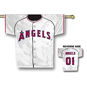 Los Angeles Angels of Anaheim 34 x 30 Two Sided Jersey Banner by Fremont Die