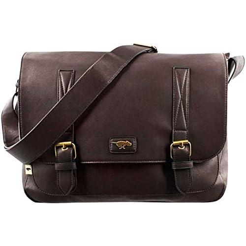 Rocket Dog Rosemary Leatherette Satchel Messenger Bag   Over the Shoulder Bag for Women in Chocolate