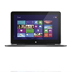 Dell XPS 11 XPS11-7693CFB 11.6-Inch Convertible 2 in 1 Touchscreen Laptop (1.9 GHz Intel Core i5-4210Y Processor, 4.0 GB SDRAM, 12GB SSD, Windows 8) Carbon Fiber