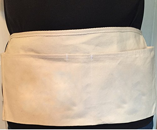 3-pocket Nail Waist Apron with Pencil Pocket. Made in the US