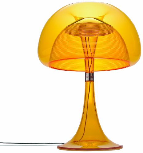 Qisdesign Jf11_D Aurelia Table Lamp, Orange