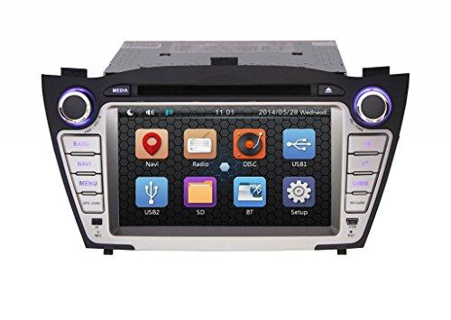 Pumpkin 7 Inch For Hyundai Tucson /Ix35 2009-2013 In Dash Hd Touch Screen Car Dvd Player Gps/Bluetooth/Navi/Sd/Usb/Fm/Am Radio Stereo Navigation System
