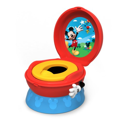 The First Years 3-In-1 Potty System, Mickey Mouse front-954194