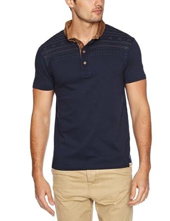 Bellfield Men's T-Shirt, Navy, XX-Large