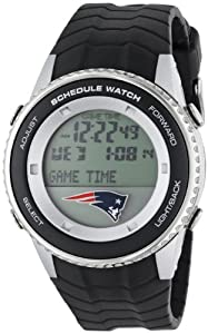 NFL Mens NFL-SW-NE Schedule Series New England Patriots Watch by Game Time