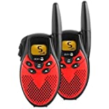 Doro WT77 7K Two Way Radio 8 Channel - Black & Redby Doro