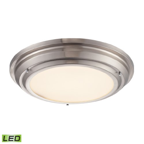 Sonoma Collection Led Flushmount In Brushed Nickel