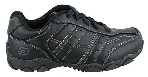 Skechers Kids Diameter Averie Relaxed Fit Shoe,Black,12 M US Little Kid