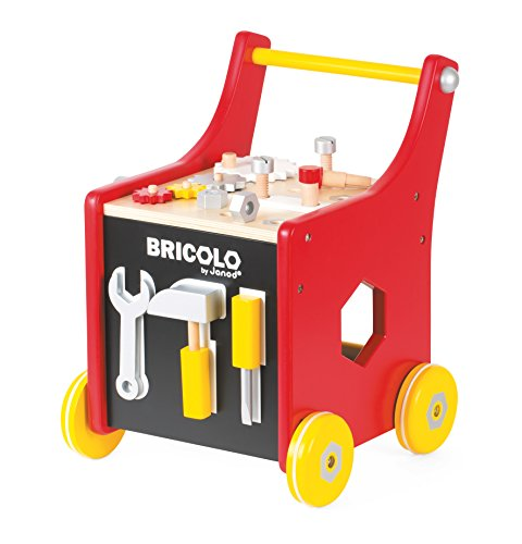 Janod Bricolo Redmaster Magnetic DIY Building Kit (Red Trolley Toy compare prices)
