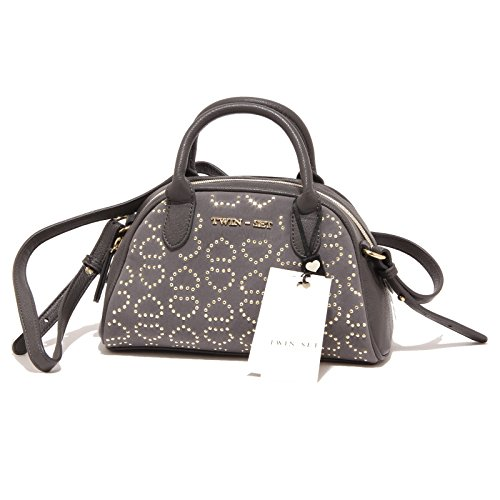 5390P borsa a mano grigia TWINSET accessori borsetta donna bag women [Taglia unica]