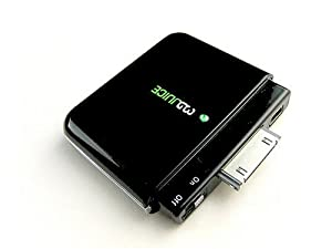 3GJuice Black 2.0 1800 mAh/2A DeLuxe Version iPhone/ iPod Battery Charger
