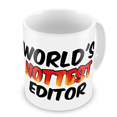 Coffee Mug Worlds Hottest Editor - Neonblond