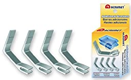Metal Support Brackets Facility Double Tray (4 Pieces)