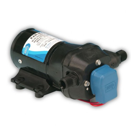 Jabsco 31600-0092 Marine ParMax 3 High Pressure Water System Pump (3.5-GPM,40-PSI, 12-Volt, 10-Amp, Up to 3 Outlets)