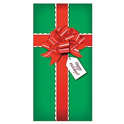 "CHRISTMAS PRESENT/Gift DOOR BANNER Holiday DECORATION/Decor/36"" x 72"""