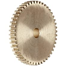Boston Gear Spur Gear, Brass, Inch, 24 Pitch