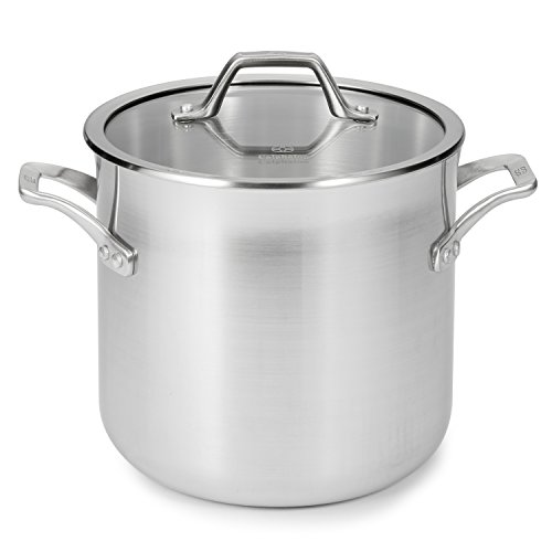 Calphalon 1833953 AccuCore Stainless Steel Stock Pot with Cover, 8-Quart (Calphalon Chili Pot compare prices)