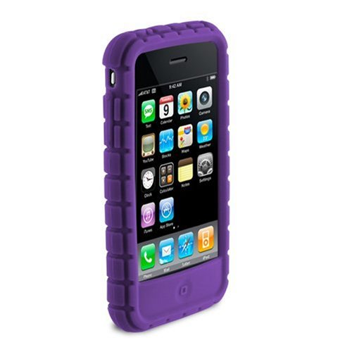 Speck Products Pixel Skin Case for iPhone 3G, 3G S  (Huckleberry Purple)