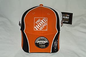 Chase Authentics NASCAR Tony Stewart Home Depot Embroidered Velcro Mesh Back Cap by Nascar