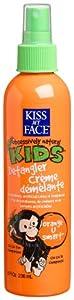 Kiss My Face Kids Detangler Cr?me, Orange U Smart, 8-Ounce Bottles (Pack of 3)