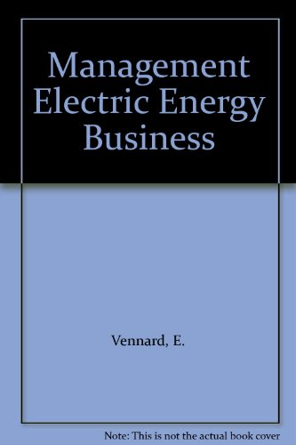 Management Electric Energy Business