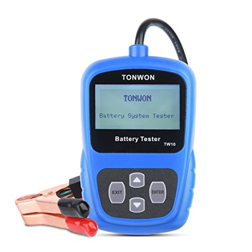 tonwon batterietester 12v autobatterie belastungstester. Black Bedroom Furniture Sets. Home Design Ideas