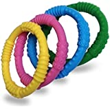 BEST Baby Teether - 4 Colour Pack - BPA Free & Drool Proof - Safe & Soothing Relief For Your Baby - Solve Teething Today !