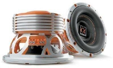"""Alphasonik PSW815J, 38cm (15"""") Caisson De Basse, Série Alpha 800, 1000W RMS"""