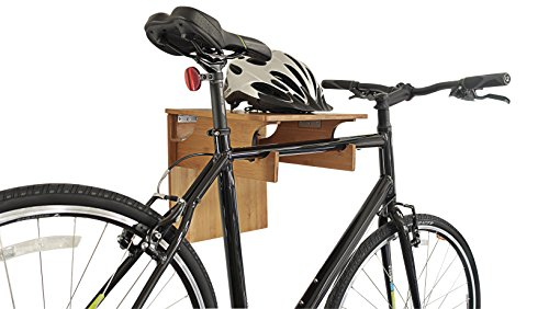 Buy Bargain Bamboo Fold-away Bike Rack / Great Rack for Storing Your Bicycle By COR Board Racks