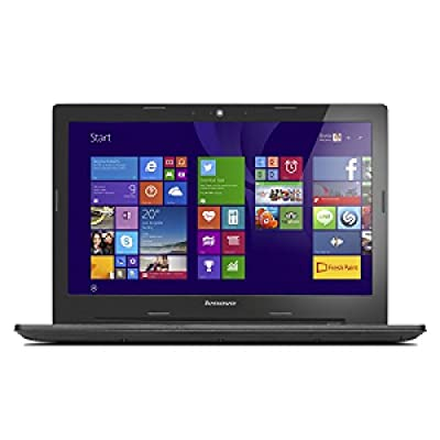 Lenovo G50-45 80E3022BIH 15.6-inch Laptop (AMD E1-6010/4GB/500GB/Windows 10 Home/Integrated Graphics), Black