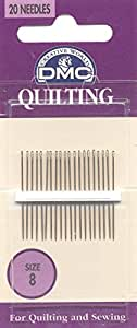 DMC 1766-8 Quilting Hand Needles, 20-Pack, Size 8
