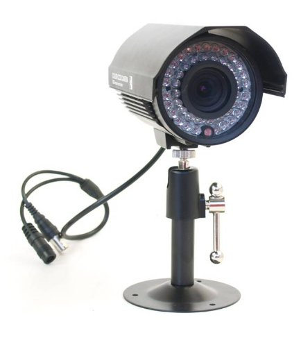 Outdoor Nightvision Motion Activated Camera with Built-in Video Recorder.