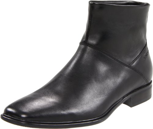 Kenneth Cole New York Men's Weekly Meeting Boot, Black, 7.5 M US